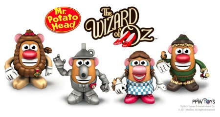 The Wizard of Oz Mr. Potato Head Collection