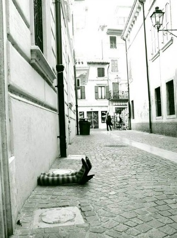 Wizard of Oz Street Scene - Verona, Italy