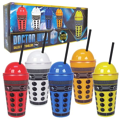Dalek 16 Ounce Tumbler Set
