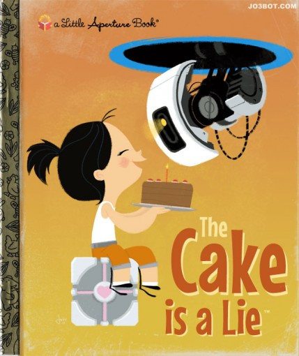 Little Video Game Book: The Cake Is a Lie
