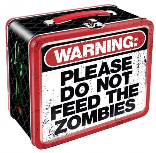 Please Do Not Feed the Zombies Lunchbox