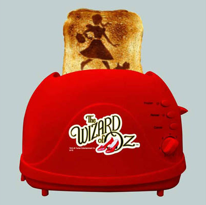 The Wizard of Oz Toaster