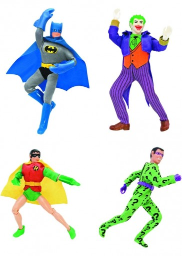 Batman Retro Action Figures