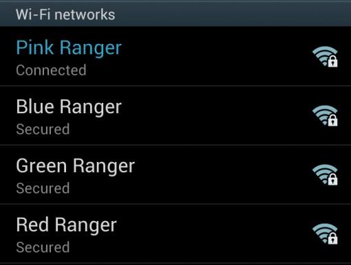 Rangers WiFi
