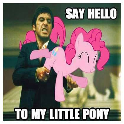 Say Hello ... To My Little Pony