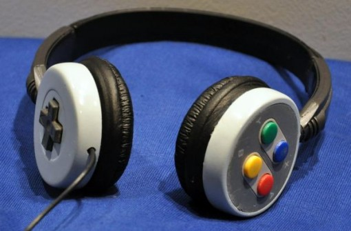 SNES Headphones