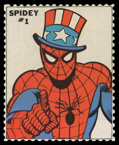 Spidey Stamp