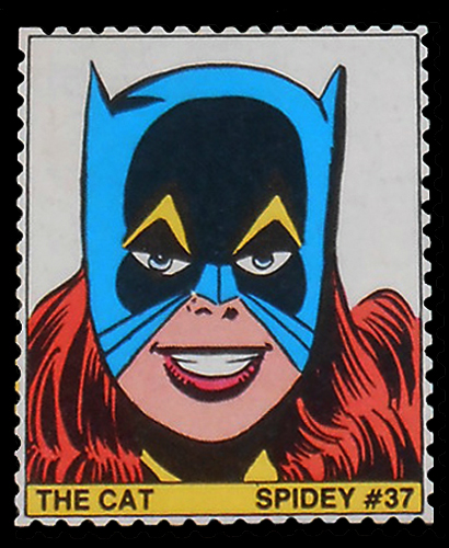 Spidey Stamp: The Cat