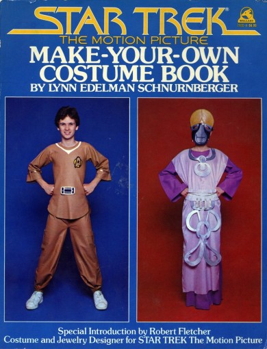 Star Trek: Make Your Own Costume Book (cover)