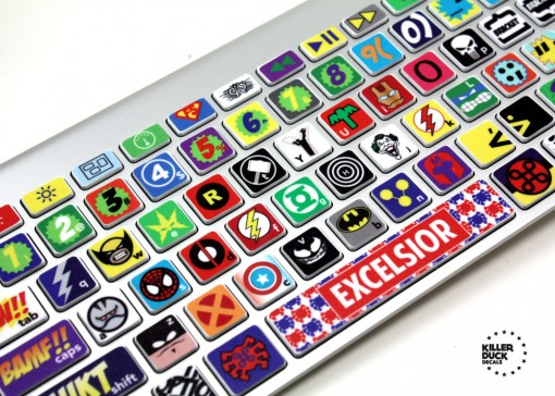 Super-hero Keyboard Skin