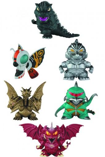 Godzilla Super-Deformed 6 Piece Set