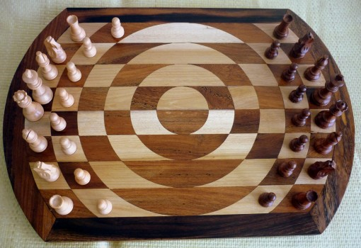 Singularity Chess Board