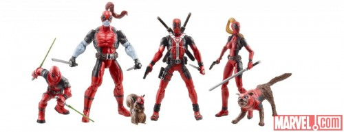 Deadpool Corps Action Figures