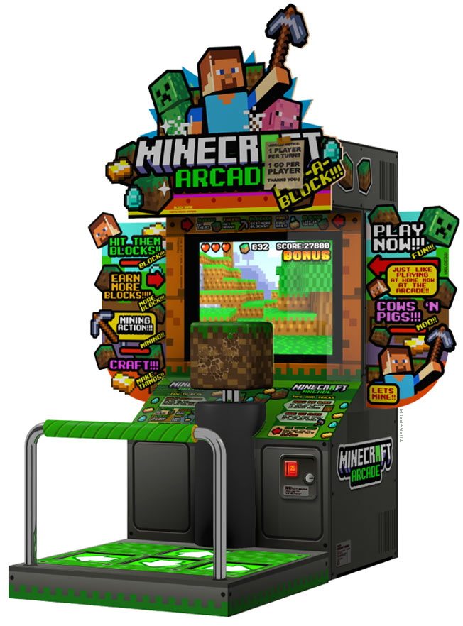 What If Minecraft Were An Arcade Game      BrianCarnellCom 9A6iw3RV