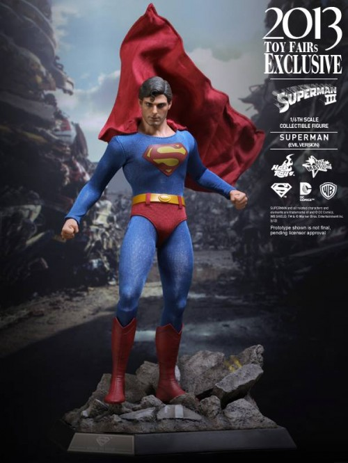 Superman III - Evil Superman Action Figure