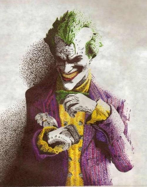 Joker Pointilism