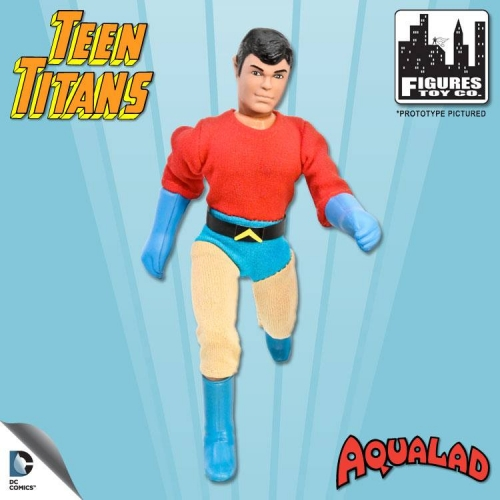 Teen Titans Retro Action Figure: Aqualad