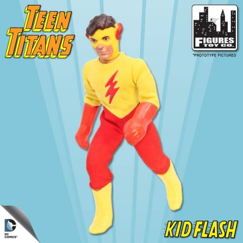 Teen Titans Retro Action Figure: Kid Flash