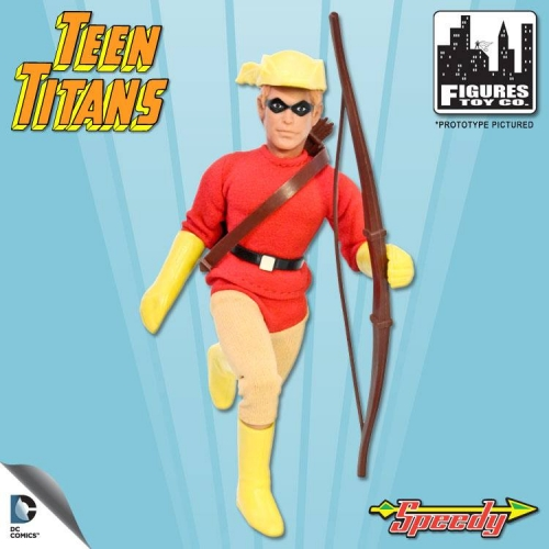 Teen Titans Retro Action Figure: Speedy