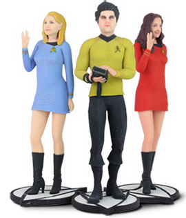 3D Systems - Star Trek - The Original Series Figurs