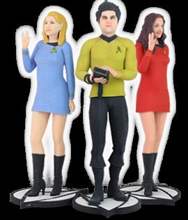 3D Systems - Star Trek - The Original Series Figurs