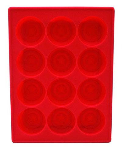 Captain America Shield Ice Cube Tray