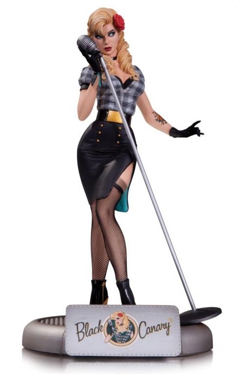 DC Bombshells Statues: Black Canary