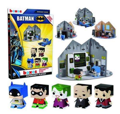 Funko Batman Papercraft Activity Set