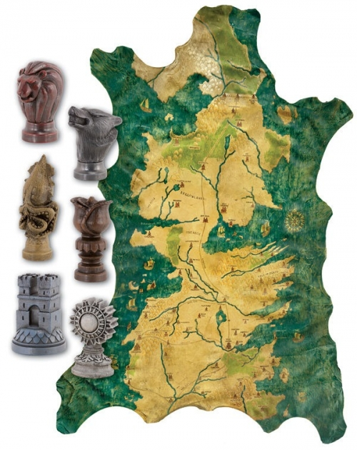 Game of Thrones Map and Map Marker Set
