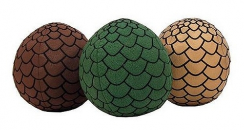 Game of Thrones: Dragon Egg Plushes