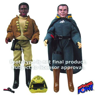 Retro Action Figures: Lt. Boomer and Baltar