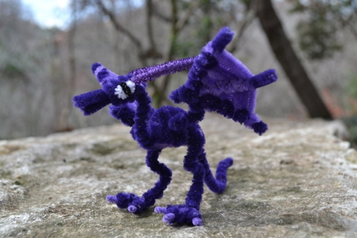 Pipe Cleaner Violet Strider