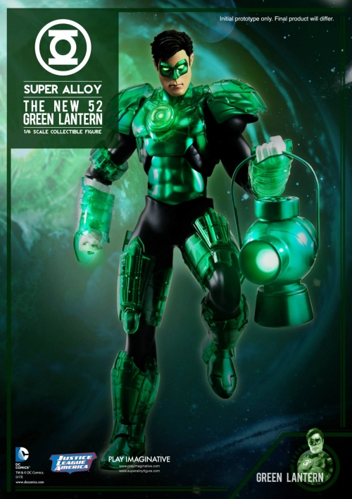 Super Alloy Green Lantern
