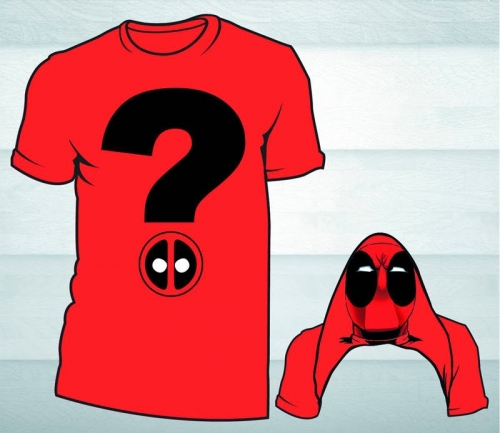 Deadpool Question Mark T-Shirt
