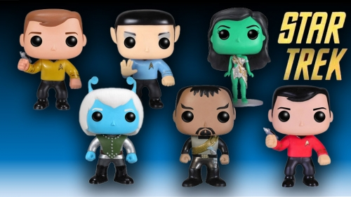 Funko Pop! Star Trek Vinyl Figures