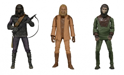 Classic Planet of the Apes Action Figures