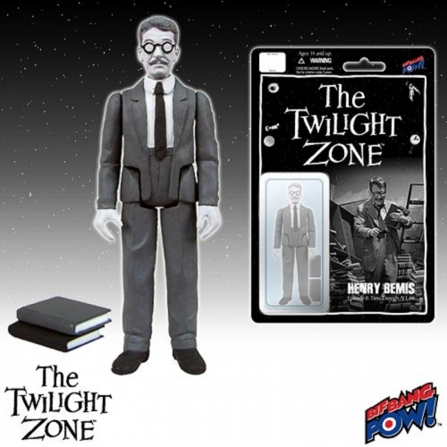 Henry Bemis Twilight Zone Action Figure