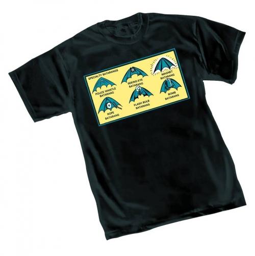 Batman 75th Anniversary Batarang T-Shirt