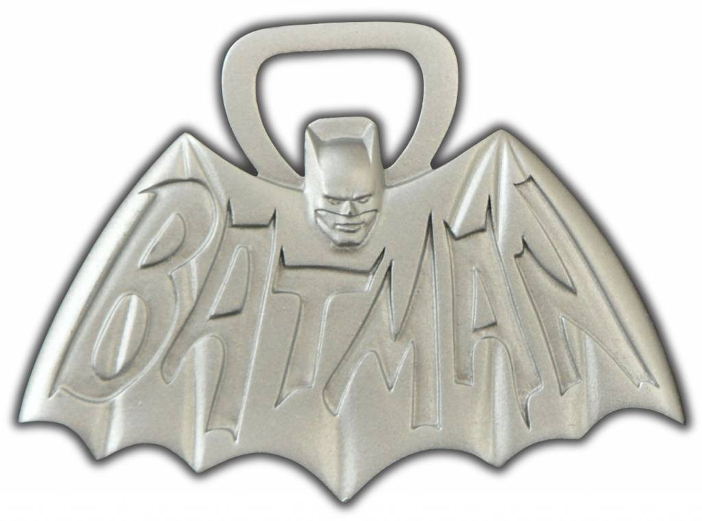 Classic Batman tv Logo Classic Batman tv Logo Bottle Opener