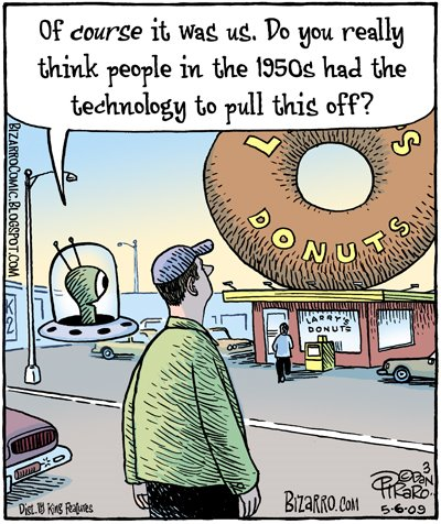 Bizarro: Ancient Donut Aliens
