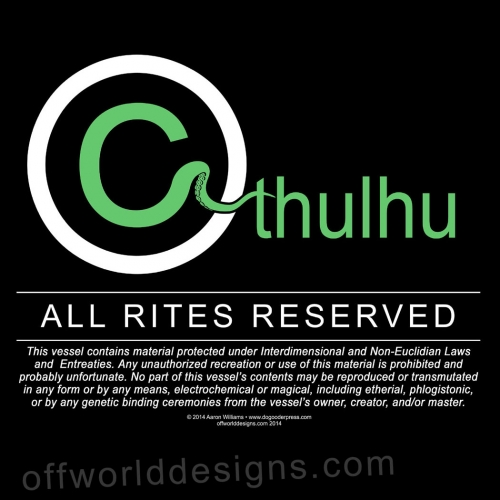 Cthulhu All Rites Reserved T-Shirt