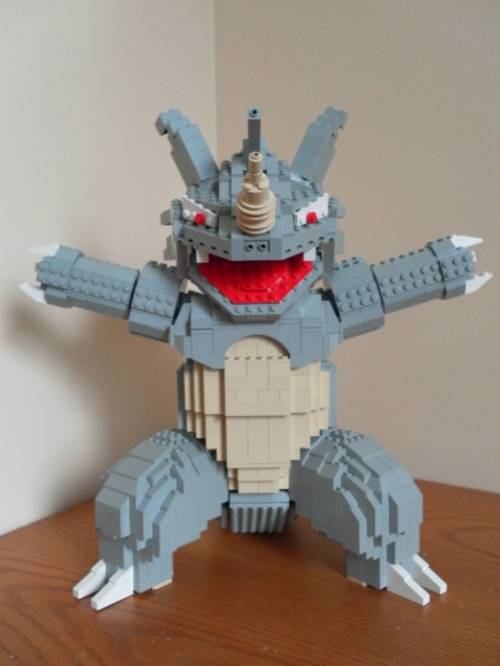 Lego Pokemon - Rhydon