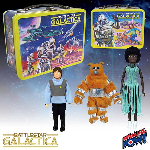 Battlestar Galactica Retro Tin-Tote Set