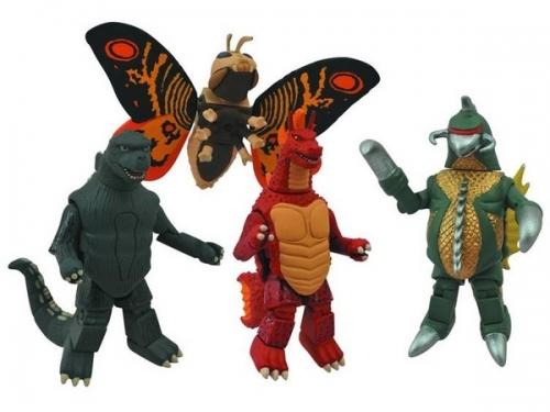 Godzilla Minimates Series 1