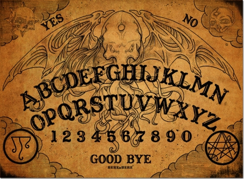 Cthulhu Ouija Board
