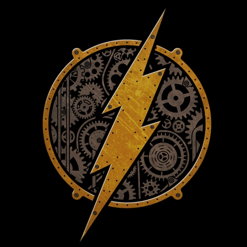 Steampunk Flash Logo T-Shirt