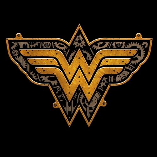 Steampunk Wonder Woman Logo T-shirt
