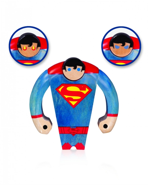 DC Comics Wood Figuers - Superman