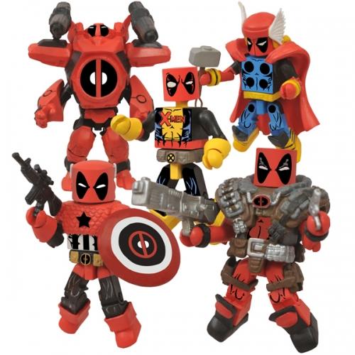 Deadpool Minimates