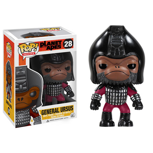Planet of the Apes Pop! Vinyl General Ursus Figure
